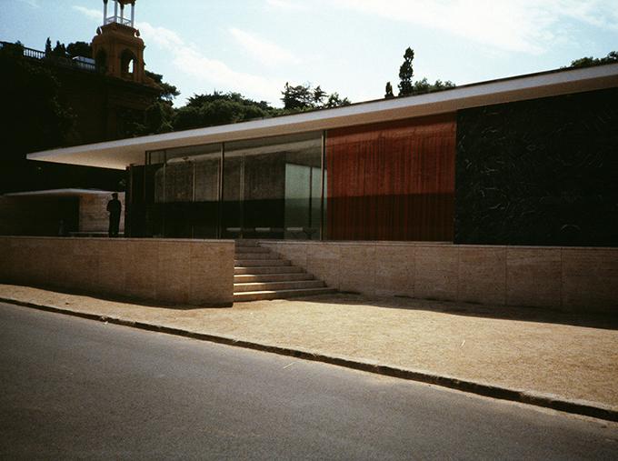 Shelagh Keeley, Barcelona Pavilion I, 1986/2012